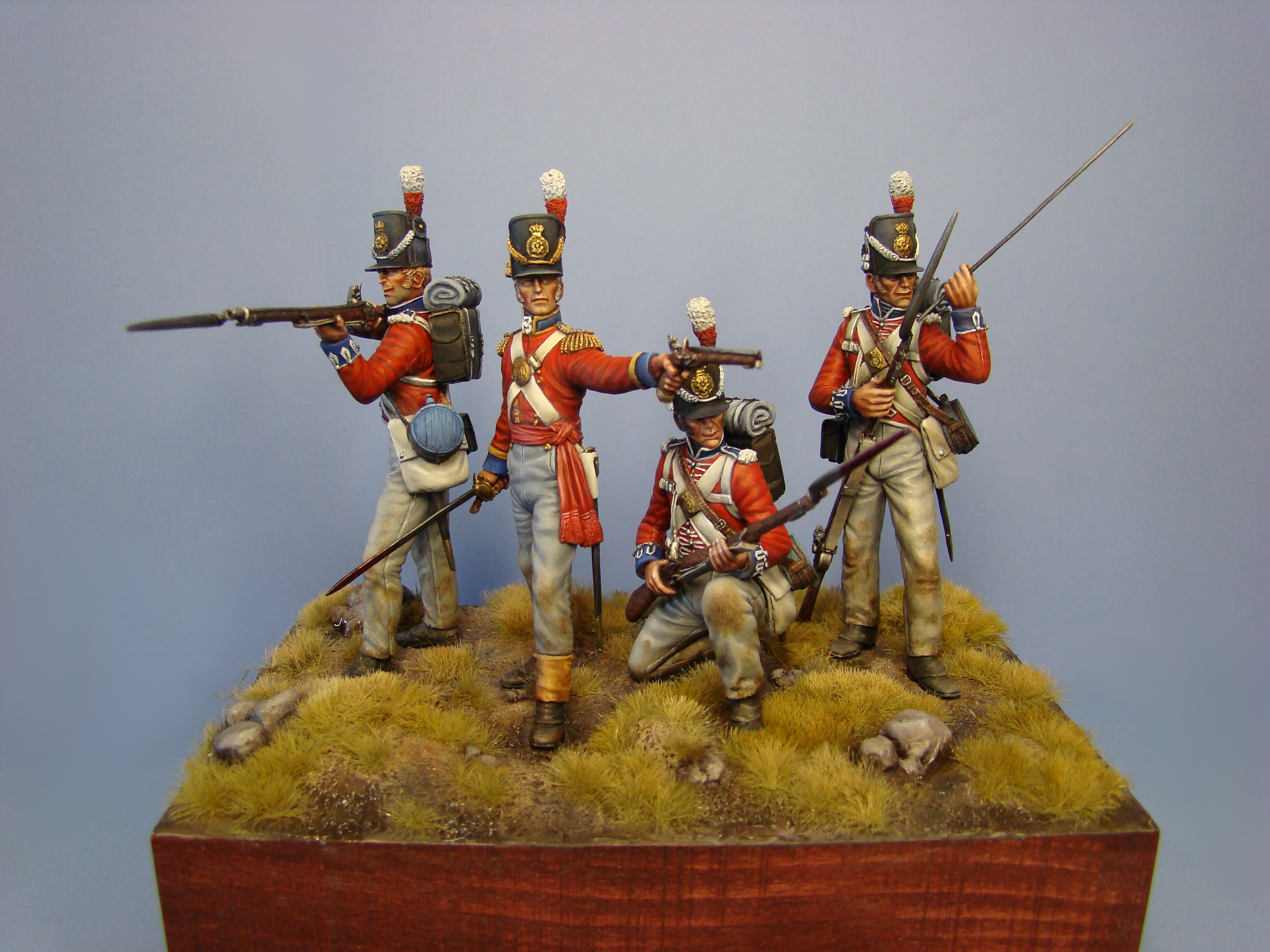 Hawk Miniatures: Stand Fast Lads! Waterloo aniversary set