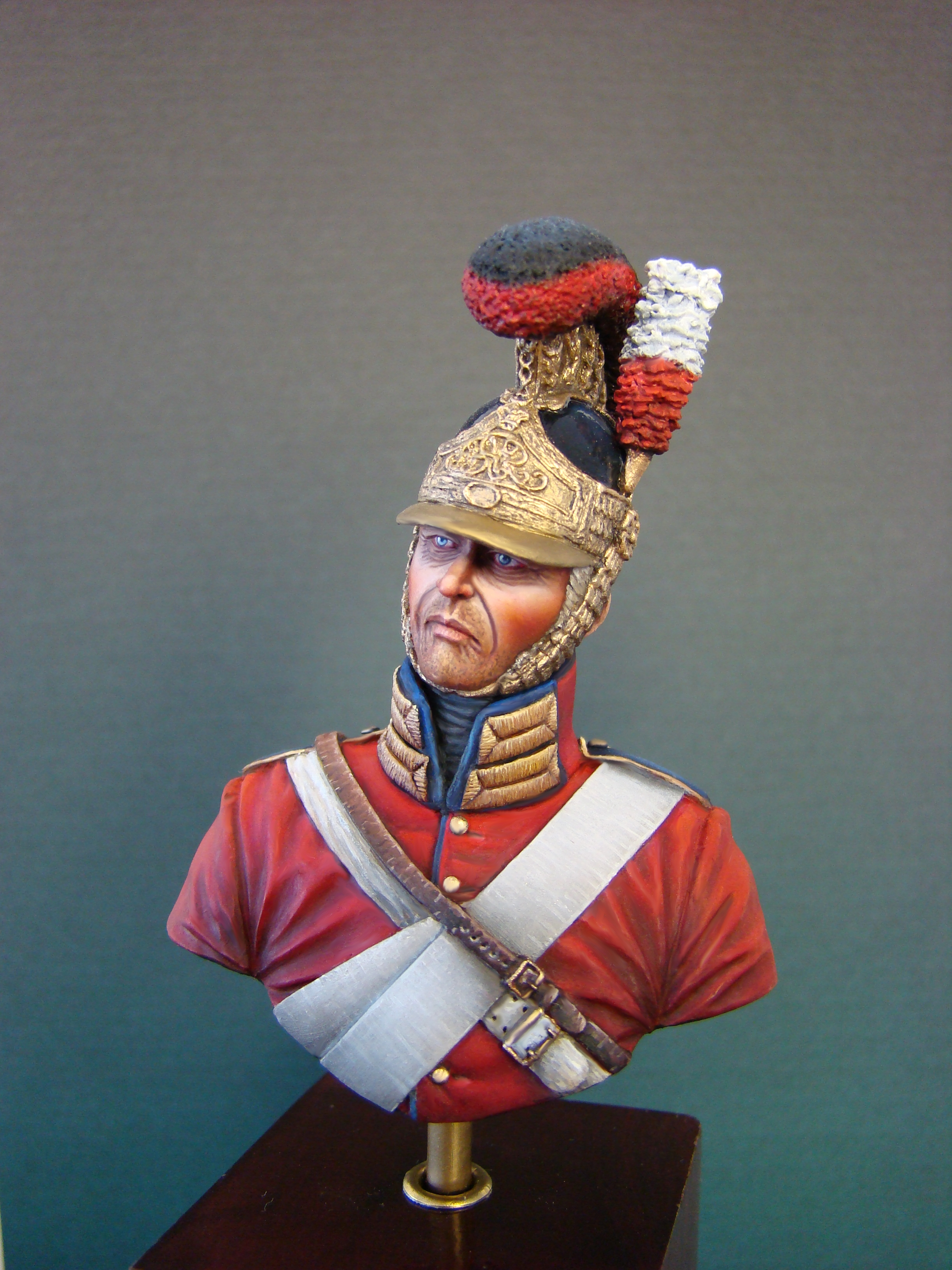 Hawk Miniatures: Life Guard Bust 1/12th Scale