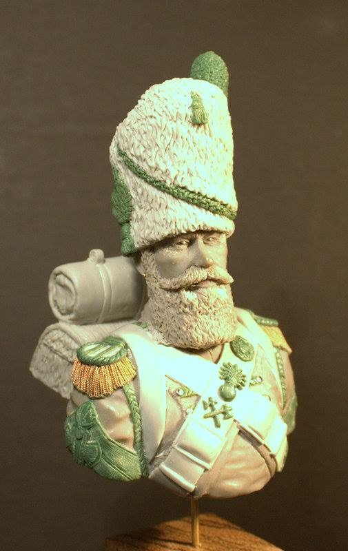Black Eagle Miniatures: Old Guard Sapper Bust