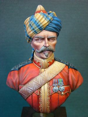 Picture of Bengal Cavalry Officer 1910