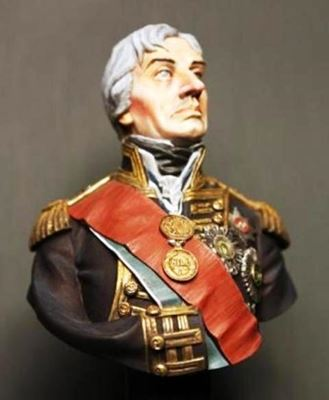 Picture of Vice Admiral Horatio, Lord Nelson (Bust)