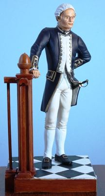 Picture of Royal Naval Captain 1774 Full Dress Uniform
