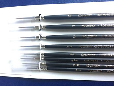 Picture of Paint Brush Set (Set of 8 Rounds)