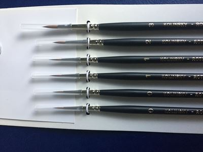 Picture of Paint Brush Set (Set of 6 Rounds)